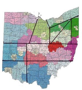 Districts of Ohio